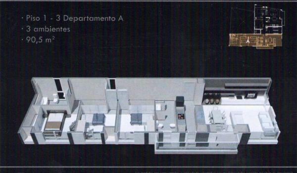 Sarmiento 190 - 4 ambientes