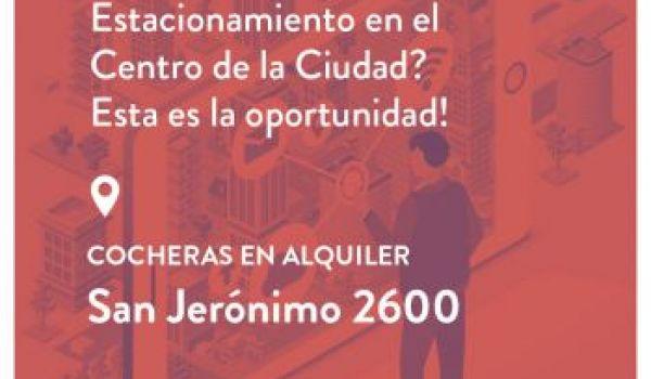 San Jerónimo 2600