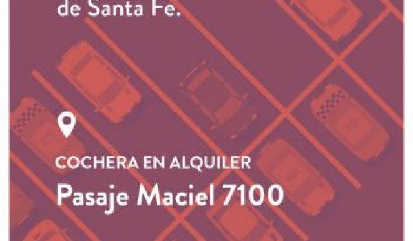 Pasaje Maciel 7100